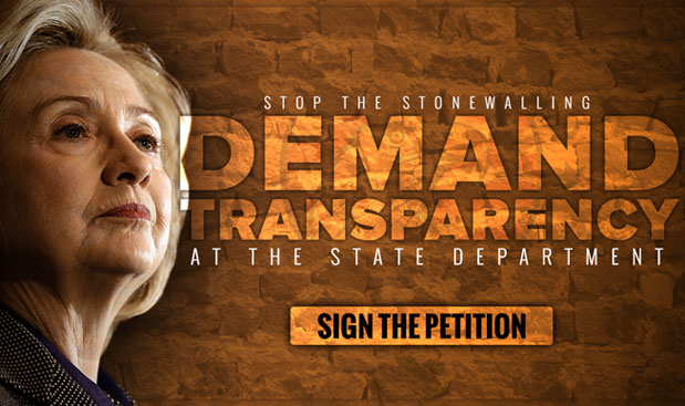 Demand Transparency at The State Department